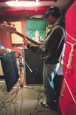 Dynamite Brothers - WXDU studios