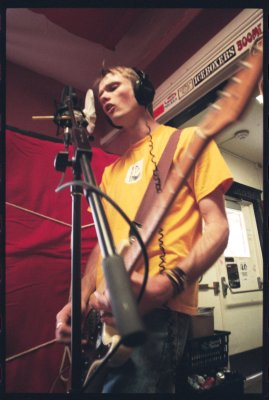Stephen Tunnell of Vibrant Green, WXDU Studios, July 1, 2001